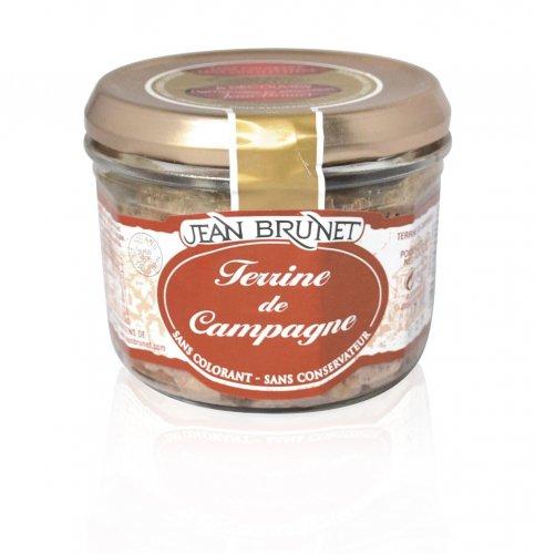 Rustikale Fleisch-Pastete, Jean Brunet, 180g, Grundpreis 1,64 EUR / 100 g