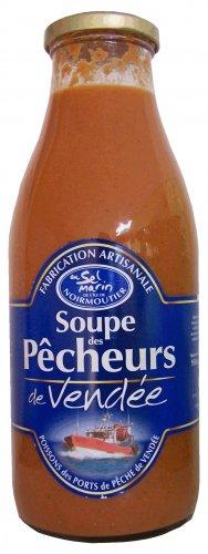 950ml bester Fischsuppe aus Frankreich, vom Atlantik, Grundpreis 9,42 EUR / Liter