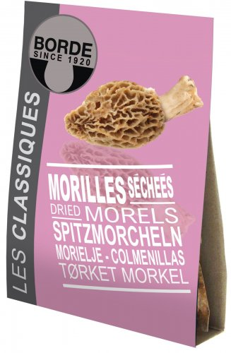 Getrocknete Morcheln in exzellenter Qualität, Bontout, Frankreich, 30g,Grundpreis 119,83 EUR / 100 g