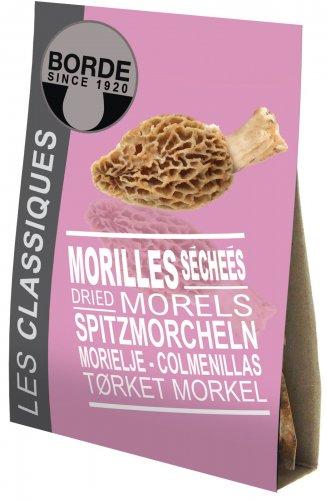 Getrocknete Morcheln in exzellenter Qualität, Frankreich, 20g,Grundpreis EUR 99,75 / 100 g