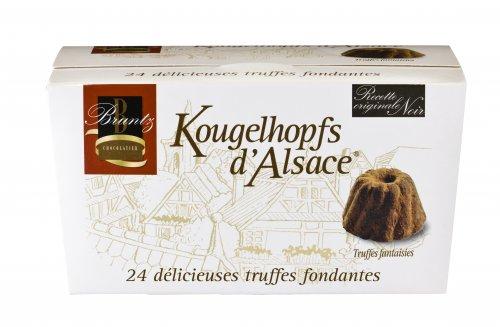 Feinherbe Trüffel Spezialität der Chocolaterie Bruntz, 144g, Grundpreis 4,13 EUR / 100 g