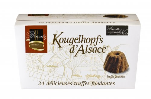 Feinherbe Trüffel, Chocolaterie Bruntz, 144g, Grundpreis 4,13 EUR / 100 g