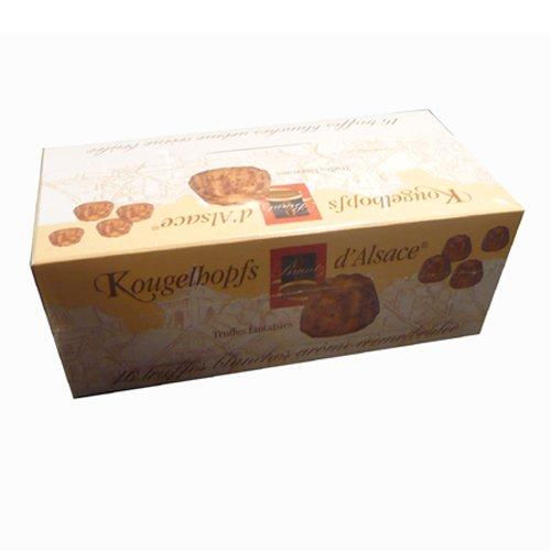 Kougelhopfs d*Alsace, 16 délicieuses truffes blanches crème brûlée, 144g, Grundpreis 4,13 EUR / 100g