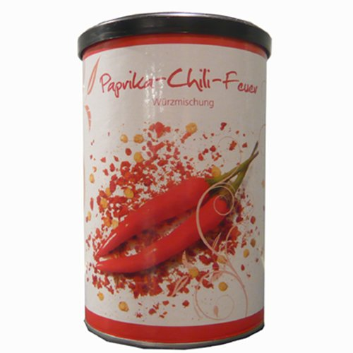 Paprika Chili Feuer, Streudose, 250g, Grundpreis 23,80 EUR / kg