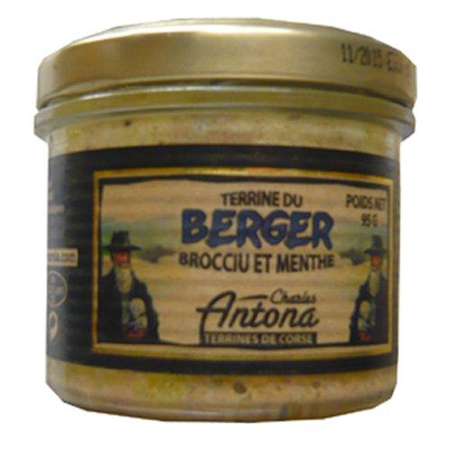 Korsische Pastete mit Brocciu Käse und Minze, 95g, Grundpreis  5,21 EUR / 100 g