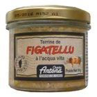 Korsische Figatellu Wurst Pastete mit Aqua Vita, 95g Grundpreis  5,21 EUR / 100g