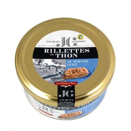 Thunfischrillettes mit grünem Pfeffer aus Frankreich, 125g, Grundpreis 4,76 EUR / 100g