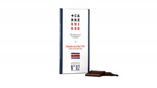 Carré Suisse dunkle Schokolade mit 75% Kakaoanteil, 100g, Grundpreis 4,95 EUR / 100 g