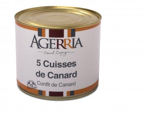 Entenconfit aus Südwest Frankreich, 2050 g, Grundpreis 14,12 EUR / kg