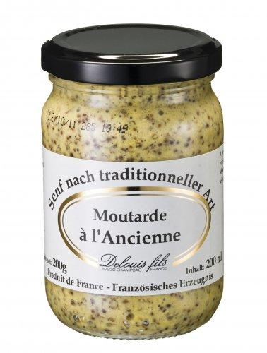 Dijon Senf nach traditioneller Art, 208 ml, Grundpreis 1,42 EUR/100 ml