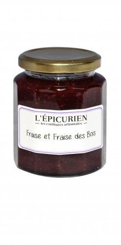 Waldbeeren und Erdbeeren Konfitüre, 210g, Grundpreis 23,57 EUR / kg