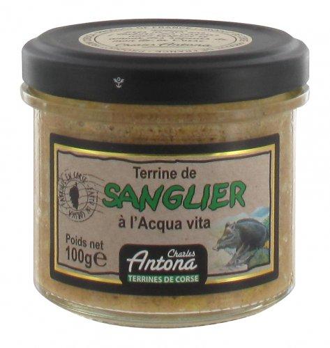 Korsische Pastete mit Acqua Vita, 95 g, Grundpreis 5,21 EUR / 100 g
