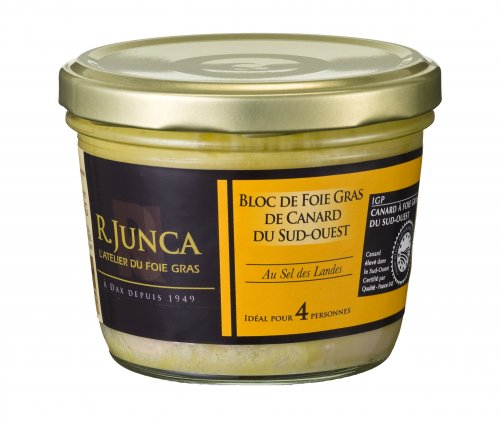 Entenleber Block - Foie Gras, 180g, Grundpreis 11,64 EUR / 100 g
